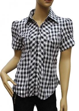 Koszule Damskie krótki rękaw ( 36-44 ) PRM 82