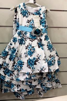 Sukienka dziewczęca bez rękaw (4-14) NL4933