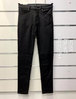 Spodnie Eko-skóra damskie (34-42) NL3290
