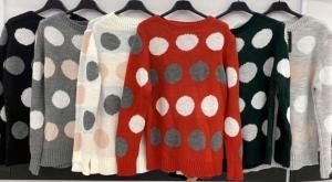 Sweter świąteczne damskie (standard) KM13343