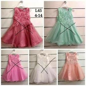 Sukienka wizytowa dla dziewczynki (4-14) TP758