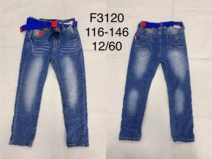 Spodnie jeansowe chłopięce (116-146) TP504