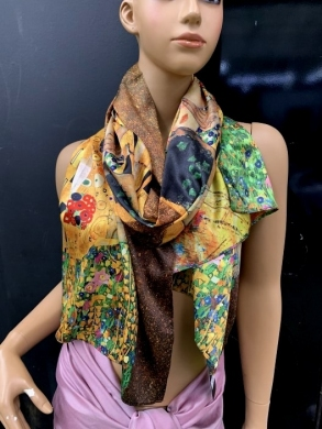 Szaliki damskie  Silk  50% , Viscose 50% (Standard) NL795