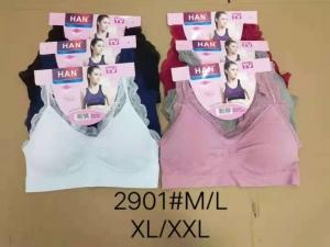Topy damskie (M-2XL) Różowy KM13675