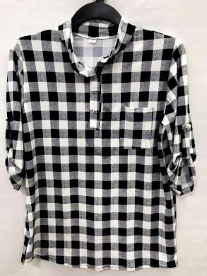 Koszula damska 3/4 rękaw - Polska (XL-3XL) NL4770