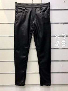 Spodnie Eko-skóra damskie (XS-XL) NL3297