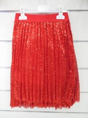 Spódnica świąteczna dziewczęca (4-14) KM12804