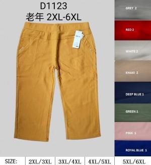 Rybaczki materiałowe damskie (2XL-6XL) NL4976