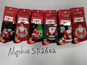 Skarpety świąteczne męskie (39-46) KM12952