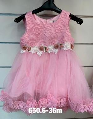 Sukienka wizytowa dziewczynki (3-36M) NL4844