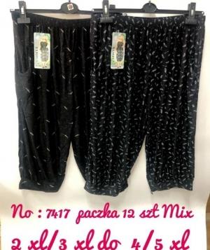 Rybaczki materiałowe damskie (2XL-5XL) NL4966