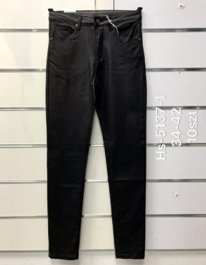 Spodnie Eko-skóra damskie (34-42) NL3286