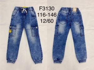 Spodnie bojówki chłopięce (116-146) TP457