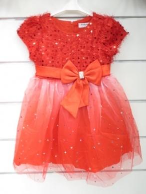 Sukienka świąteczna dziewczęca (4-14) KM12770