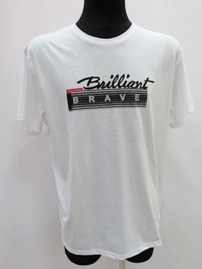 T-shirt męski z krótkim rękawem (M-3XL) KM16678