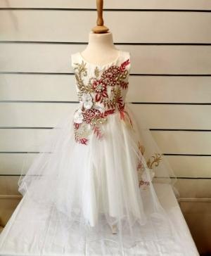 Sukienka wizytowa dziewczynki (2-14lat) NL4728