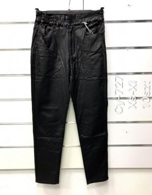 Spodnie Eko-skóra damskie (XS-XL) NL3300