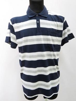 T-shirt męski z krótkim rękawem (2XL-4XL) KM16671
