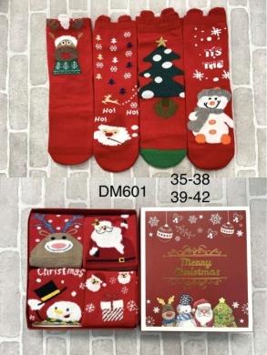 Skarpety świąteczne damskie (35-42) KM12919