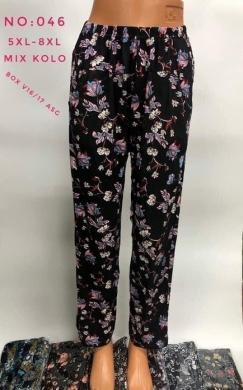 Spodnie alladynki damskie (5XL-8XL) NL2879