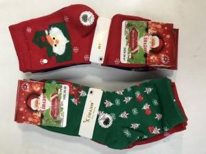 Skarpety świąteczne damskie (35-41) KM13153