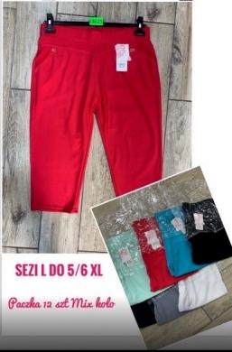 Rybaczki materiałowe damskie (L-6XL) NL4981