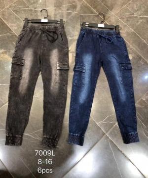 Spodnie bojówki chłopięce (6-16) TP451