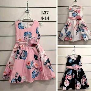 Sukienka dziewczęca bez rękaw (4-14) NL4938
