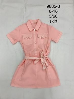 Sukienka dziewczęca krótki rękaw (8-16) TP538