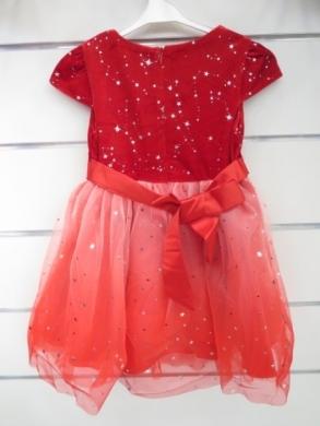 Sukienka świąteczna dziewczęca (4-14) KM12772