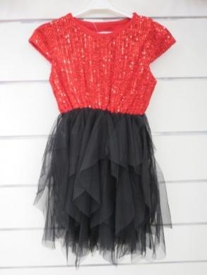Sukienka świąteczna dziewczęca (4-14) KM12778