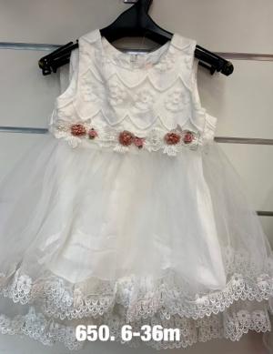 Sukienka wizytowa dziewczynki (3-36M) NL4845