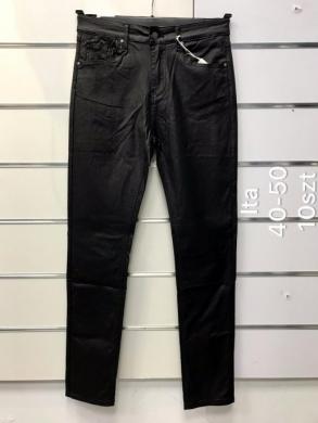 Spodnie Eko-skóra damskie (40-50) NL3293