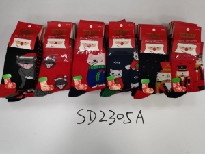 Skarpety świąteczne damskie (35-42) KM12947