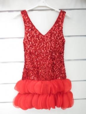 Sukienka świąteczna dziewczęca (4-14) KM12788