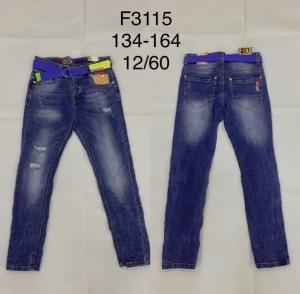 Spodnie jeansowe chłopięce (134-164) TP494
