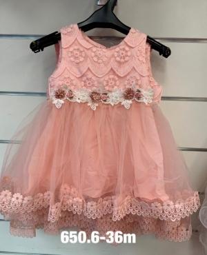 Sukienka wizytowa dziewczynki (3-36M) NL4843