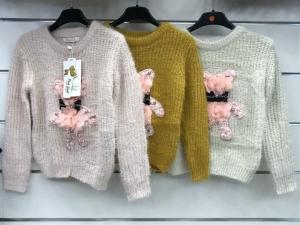 Swetry dziewcięce (4-14) KM12728