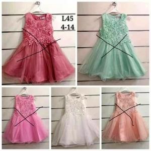 Sukienka wizytowa dla dziewczynki (4-14) TP757