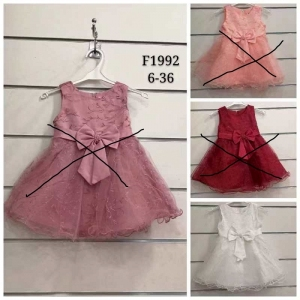Sukienka wizytowa dla dziewczynki (6-36) TP750
