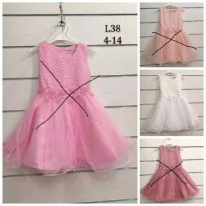 Sukienka wizytowa dla dziewczynki (4-14) TP762