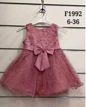 Sukienka wizytowa dla dziewczynki (6-36) TP747