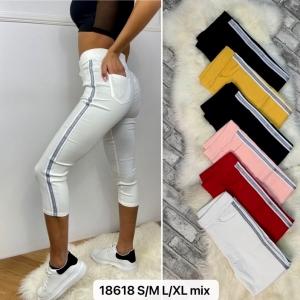 Rybaczki materiałowe damskie (M-XL) NL4687