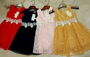 Sukienka dziewczęca bez rękaw (4-14) NL4936