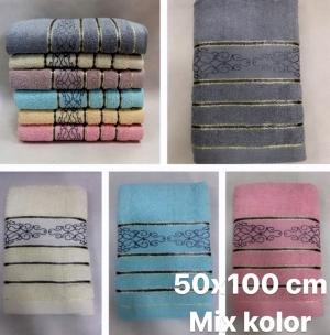 Ręcznik kąpielowy 100% bawełniane ( 50 x 100 )- Turecka 549