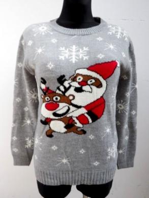 Sweter świąteczne damski (S/M-L/XL) KM11924