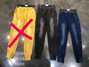 Spodnie bojówki chłopięce (4-14) TP452