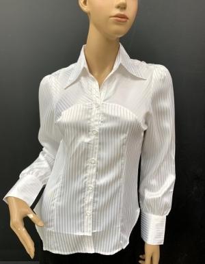 Koszula damska satynowa długi rękaw (36-44) NL1198