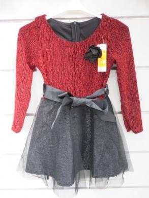 Sukienka świąteczna dziewczęca (4-14) KM12763