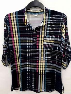 Koszula damska 3/4 rękaw - Polska (XL-3XL) NL4771
